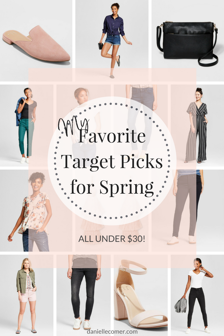 Target spring fashion picks under $30